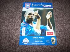 Ipswich Town v Oldham Athletic, 1995/96